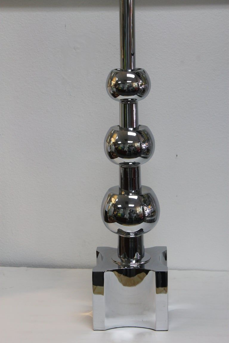 Chrome Lamp by the Stiffel Lamp Co.