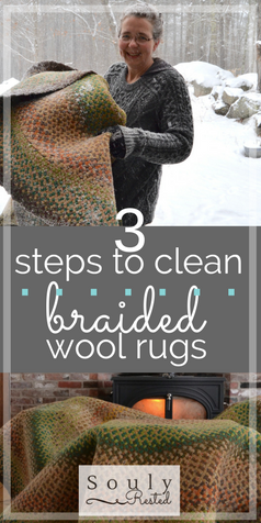 Clean Your Braided Wool Rugs in 3 Easy Steps » SoulyRested