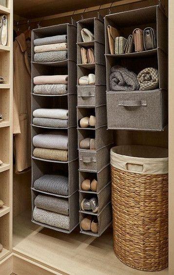 Clever Wardrobe Storage Closet Organization 59 Ideas