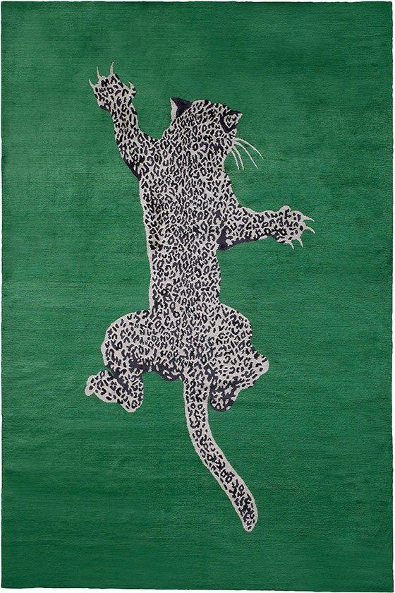 Climbing Leopard Rug by Diane von Furstenberg – Contemporary New – Dering Hall