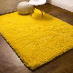Cloud Shag Rug Light Yellow 2' X 3'