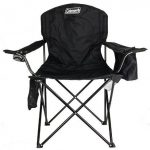 Coleman Oversized Camping Chair with Built-In Cooler