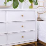 Contemporary Six-Drawer Youth Dresser in White