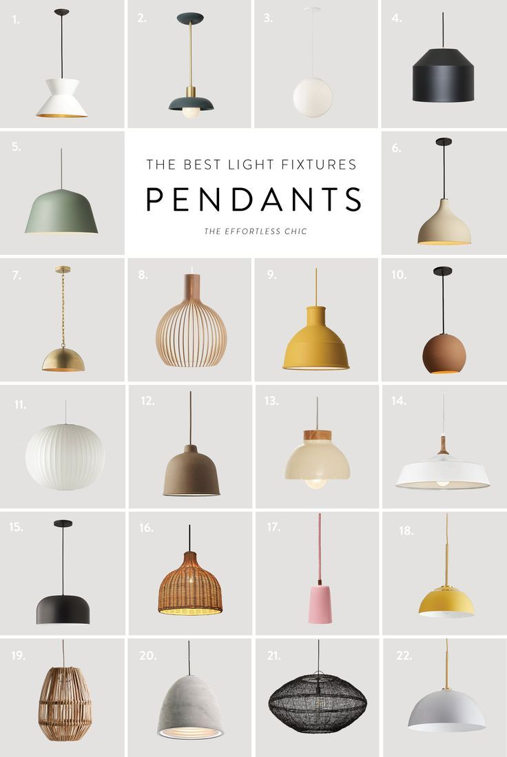 Cool Hunting || 22 of The Best Pendant Lights on the Market – The Effortless Chic