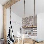 Cool indoor swings for the kids room - Paul & Paula