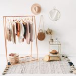 Copper Pipe A Frame Clothing Rail / Garment Rack / Clothes Storage
