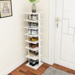 Costway Wooden Shoes Storage Stand 7 Tiers Shoe Rack Organizer Multi-shoe Rack Shoebox - Walmart.com