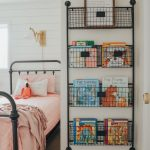 Cottage Style Kids' Bedroom Reveal! Kid's bedroom ideas with shiplap wall and fa...