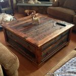 Country Roads Alder Wood Coffee Table
