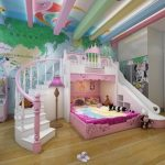 Custom Children's Princess BunkBed