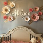 Custom Word, Personalized Wood Sign, Wooden Name, Shabby Cursive Word, Room Decoration, Nursery, Wall hanging, Painted Wood, Script
