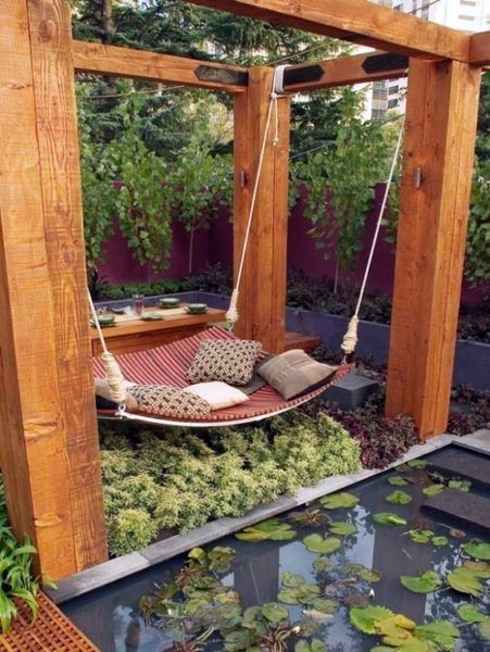 Cute garden swing anchors only on kennyslandscaping…