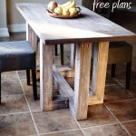 DIY Breakfast Table