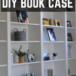 DIY Built-In Shelves using Ikea Billy Bookcase Hack
