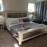 DIY Farmhouse Bed – King Version