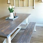 DIY Farmhouse Table – Leap of Faith Crafting - https://pickndecor.com/interior