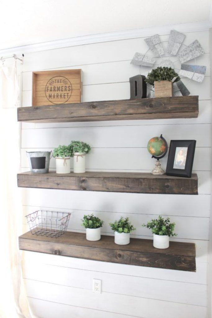 DIY Floating Shelves – How To Make Your Own Floating Shelves