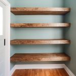 DIY Floating Wood Shelves! (Yellow Brick Home)
