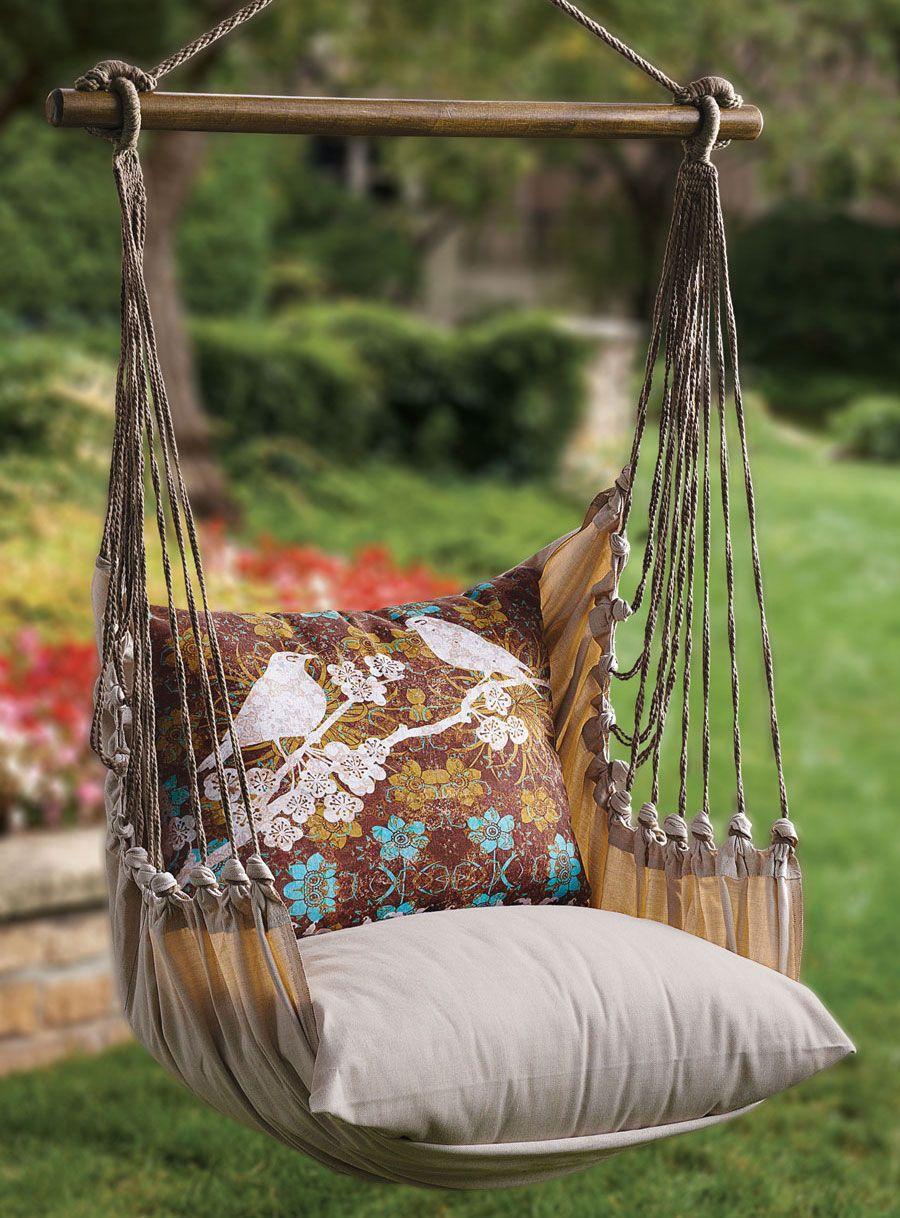 DIY Garden Swings