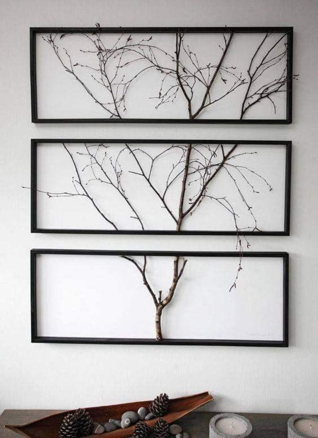 DIY Home Decor Out Off Tree Branches | Elonahome.com