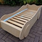DIY Kids' Racing Car Bed - woodworking plans