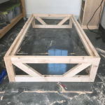 DIY Modern Platform Bed - Free Plans & How-To Video - Shanty 2 Chic