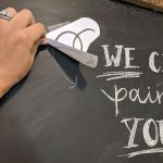 DIY No Fail, Super Easy Pro Chalkboard Drawing and Letters!