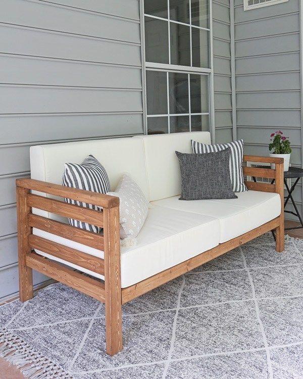 DIY Outdoor Couch – worldefashion.com/decor