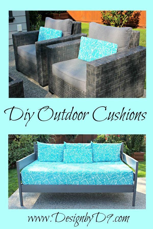 DIY Outdoor Cushions – Add a Splash of Colour – pickndecor.com/design
