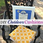 DIY Outdoor Seat Cushions - pickndecor.com/design