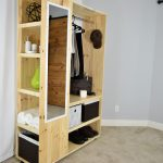 DIY PORTABLE CLOSET Organizer (PDF Plan)