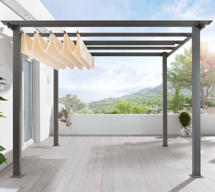 DIY: Pergola Kit, Canopy Included – Gardenista