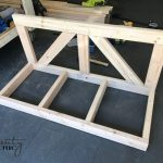 DIY Porch Swing: Only $40 For A Farmhouse Porch Swing