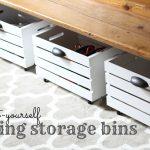 DIY Rolling Storage Bin - I Can Teach My Child!