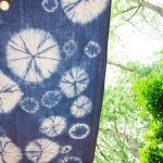 DIY Shibori Shade Sail | A Stunning Additon to any Yard · A Plentiful Life