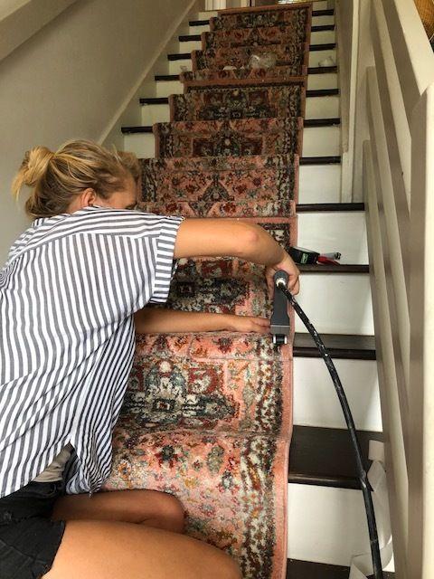 DIY Stair Runner Tutorial — house on a sugar hill