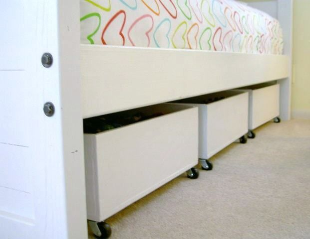 DIY Underbed Storage Bins from Plywood