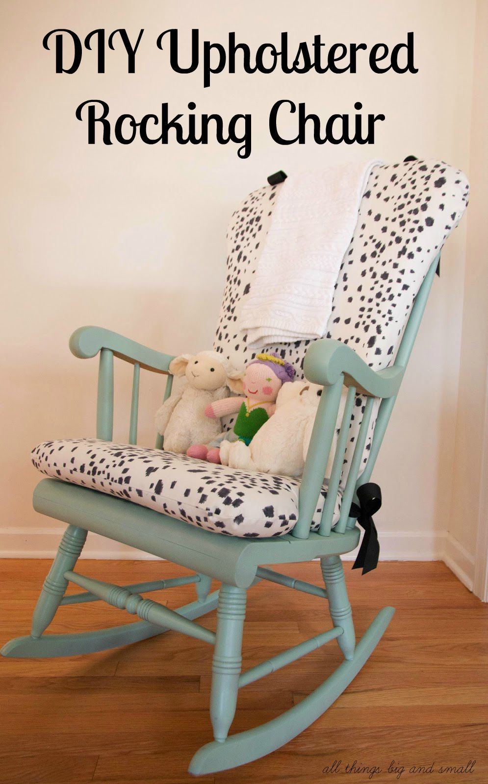 DIY Upholstered Rocking Chair | Home Decor | DIY Decor Mom