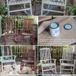 DIY Vintage Painted Rocking Chairs