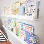 DIY Wall Mounted Kid's Bookshelves - Our Handcrafted Life