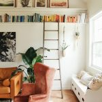 DIY picture ledge + bookshelf. | In Honor Of Design