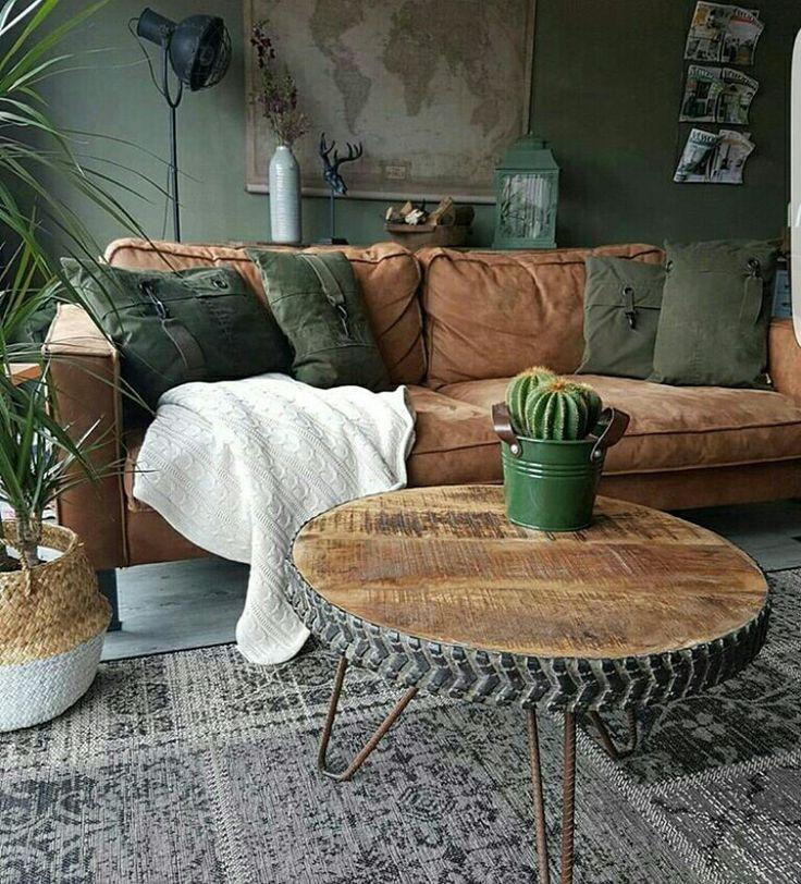 De plus en plus amoureux de l'idée d'un canapé en cuir. Le fauteuil en cuir d'enfance était … – worldefashion.com/decoration