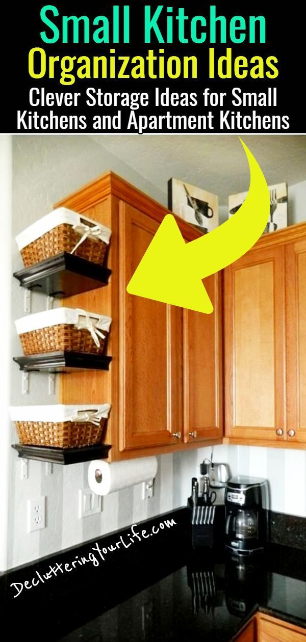 Declutter Your Kitchen – DIY Shelves To Organize a Country Farmhouse Kitchen on a Budget – Decluttering Your Life