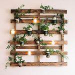Décor mural pas cher à partir de palettes en bois Scrap - Wood Design