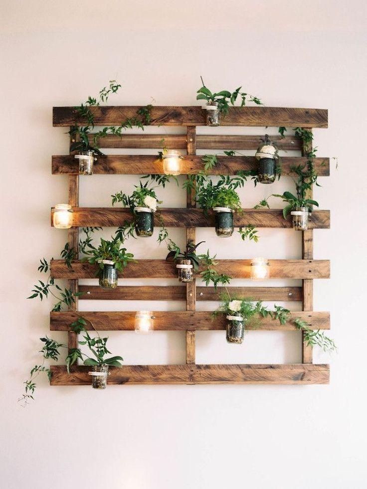 Décor mural pas cher à partir de palettes en bois Scrap – Wood Design