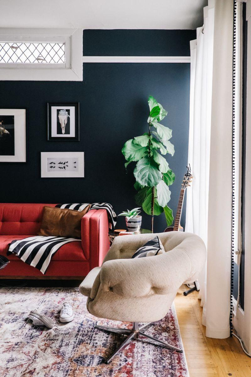 Déjà Blue: This San Francisco Living Room Gets a Makeover – pickndecor/home