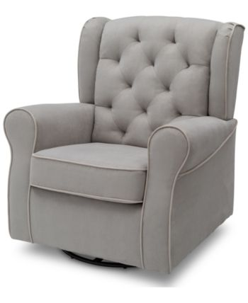 Delta Emerson Nursery Glider Swivel Rocker Chair, Quick Chair & Reviews – Chairs – Furniture – Macy's