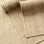 Diamond Sand Woven Sisal Rug | Dash & Albert