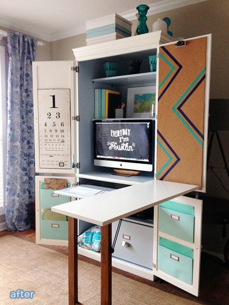 Did not compute – an armoire makeover | Better After
