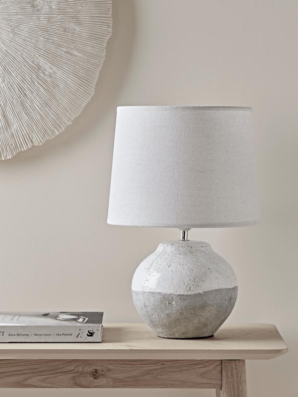 Dip Glaze Table Lamp – Small